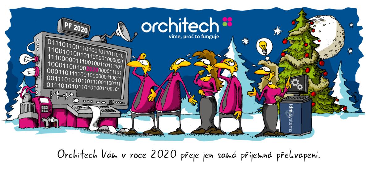 Orchitech Vám v roce 2020 přeje jen samá příjemná překvapení.